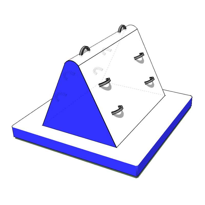 Splash Park piramide gonfiabile